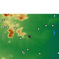 Nearby Forecast Locations - Perambalur - Χάρτης
