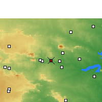 Nearby Forecast Locations - Phusro - Χάρτης