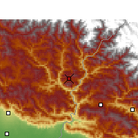 Nearby Forecast Locations - Pithoragarh - Χάρτης