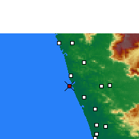 Nearby Forecast Locations - Ponnani - ������