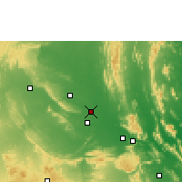 Nearby Forecast Locations - Proddatur - Χάρτης