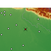 Nearby Forecast Locations - Puranpur - Χάρτης