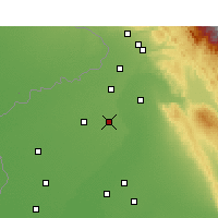 Nearby Forecast Locations - Qadian - Χάρτης