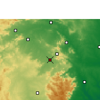 Nearby Forecast Locations - Rairangpur - Χάρτης
