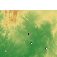 Nearby Forecast Locations - Ramgarh - Χάρτης
