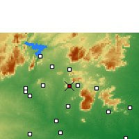 Nearby Forecast Locations - Rasipuram - Χάρτης