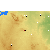 Nearby Forecast Locations - Rayadurg - Χάρτης