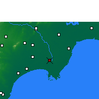 Nearby Forecast Locations - Repalle - Χάρτης