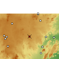 Nearby Forecast Locations - Robertsonpet - Χάρτης