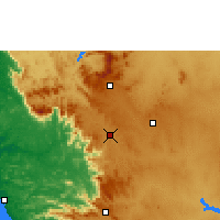 Nearby Forecast Locations - Sakleshpur - Χάρτης