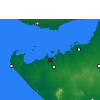 Nearby Forecast Locations - Salaya - Χάρτης