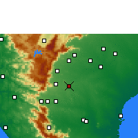 Nearby Forecast Locations - Sankarankovil - Χάρτης