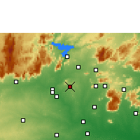 Nearby Forecast Locations - Sankagiri - Χάρτης