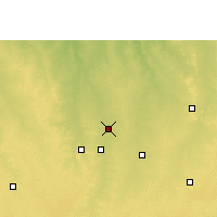 Nearby Forecast Locations - Sarangpur - Χάρτης