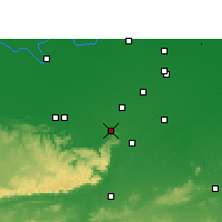 Nearby Forecast Locations - Sasaram - Χάρτης