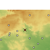 Nearby Forecast Locations - Sausar - Χάρτης