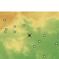 Nearby Forecast Locations - Saoner - Χάρτης