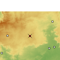 Nearby Forecast Locations - Seoni - Χάρτης