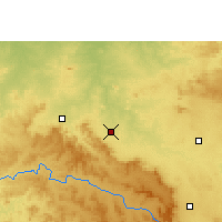 Nearby Forecast Locations - Shahdol - Χάρτης