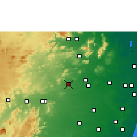 Nearby Forecast Locations - Sholinghur - Χάρτης