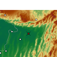 Nearby Forecast Locations - Silchar - Χάρτης