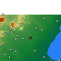 Nearby Forecast Locations - Sivaganga - Χάρτης