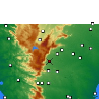 Nearby Forecast Locations - Sivagiri - Χάρτης