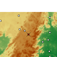Nearby Forecast Locations - Sunabeda - Χάρτης