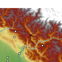 Nearby Forecast Locations - Tehri - Χάρτης