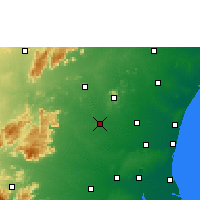 Nearby Forecast Locations - Tirukoilur - Χάρτης