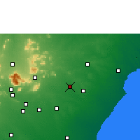 Nearby Forecast Locations - Tirupathur - Χάρτης
