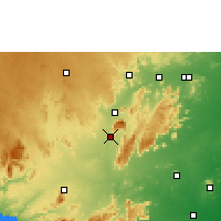Nearby Forecast Locations - Tiruppattur - Χάρτης