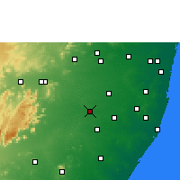 Nearby Forecast Locations - Cheyyar - Χάρτης