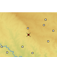 Nearby Forecast Locations - Tuljapur - Χάρτης