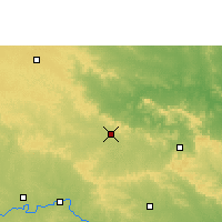 Nearby Forecast Locations - Umarkhed - Χάρτης