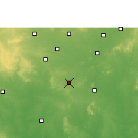 Nearby Forecast Locations - Umred - Χάρτης