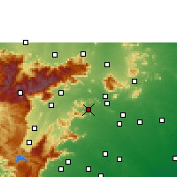 Nearby Forecast Locations - Usilampatti - Χάρτης
