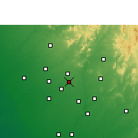 Nearby Forecast Locations - Vadnagar - Χάρτης