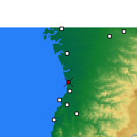 Nearby Forecast Locations - Valsad - Χάρτης