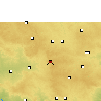 Nearby Forecast Locations - Vikarabad - Χάρτης