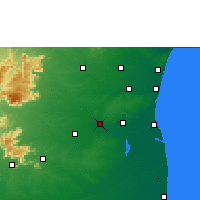 Nearby Forecast Locations - Virudhachalam - Χάρτης