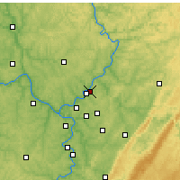 Nearby Forecast Locations - Lower Burrell - Χάρτης