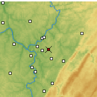 Nearby Forecast Locations - Murrysville - Χάρτης