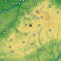 Nearby Forecast Locations - Vielsalm - Χάρτης
