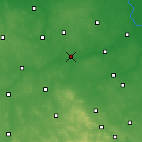 Nearby Forecast Locations - Nowe Miasto nad Pilicą - Χάρτης