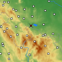 Nearby Forecast Locations - Paczków - Χάρτης