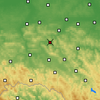 Nearby Forecast Locations - Strzyżów - Χάρτης
