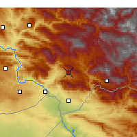 Nearby Forecast Locations - Şırnak - Χάρτης