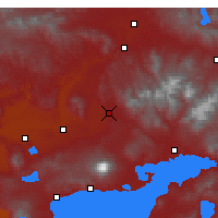 Nearby Forecast Locations - Patnos - Χάρτης