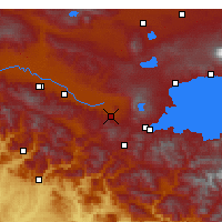 Nearby Forecast Locations - Güroymak - Χάρτης
